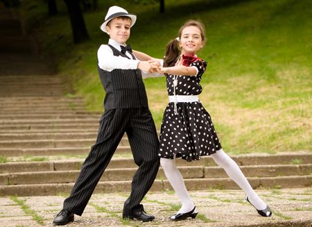 Kids Ballroom on Hustle Ballroom Dance Steps